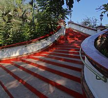 Stairway To Heaven - Escalera Al Cielo by Bernhard Matejka