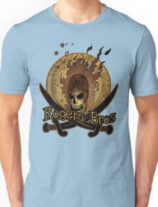 sword and skull by rogers bros T-Shirt