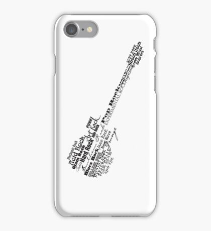 Rock Guitar iPhone Case/Skin