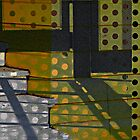 Polka Dot Abstract by Jane Underwood