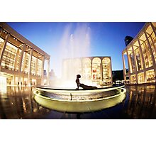 Cobra at the Lincoln Center, New York Photographic Print