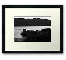 Old castle Framed Print