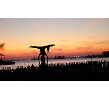 Arcroyoga Sunset, New York City Photographic Print