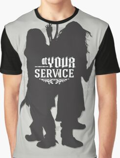 At Your Service Graphic T-Shirt