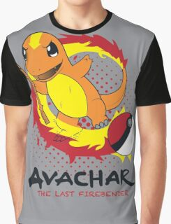 Avachar- The last Firebender Graphic T-Shirt