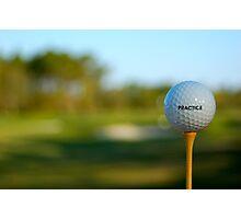 Good Golf Advice Photographic Print
