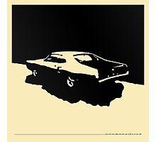 Mercury Marauder,  1969 - Black on light Photographic Print
