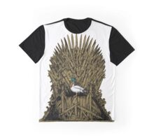 A Game On Throne Graphic T-Shirt