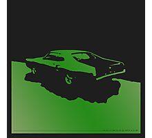 Mercury Marauder,  1969 - Green on black Photographic Print
