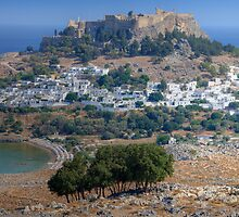 Lindos, Rhodes, Greece by strangelight