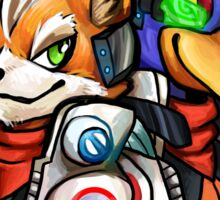 STAR FOX FLEET Sticker