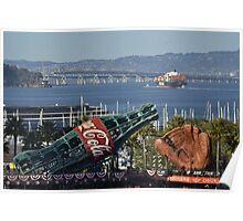 ATT Park Glove & Coke Bottle Poster