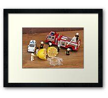 Lemon-Aid Framed Print
