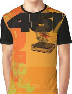 farenheit 451 Graphic T-Shirt