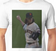 Tim Lincecum warming up Unisex T-Shirt