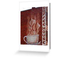 coffee house Greeting Card