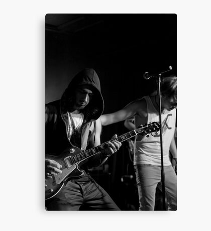 Live Band Canvas Print