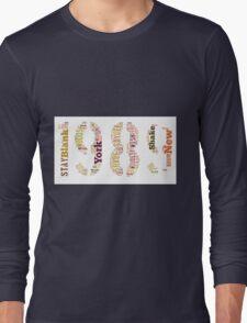 1989 Track List Long Sleeve T-Shirt