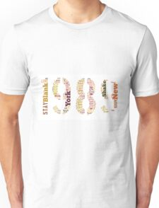 1989 Track List Unisex T-Shirt