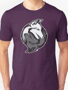 Yin Yang Animals - Wolves T-Shirt