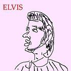 Elvis by Stacey Lazarus