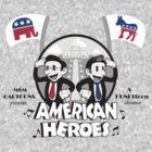 American Heroes by beware1984