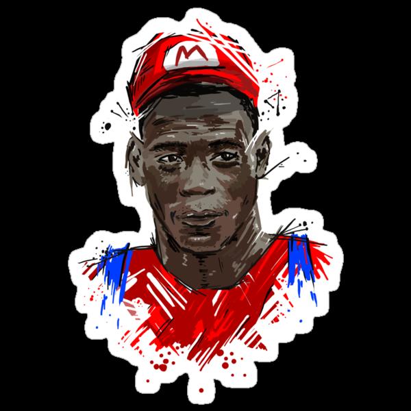Super Mario Balotelli by DLIllustration