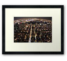 City of Lights 1 Framed Print