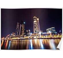 Crown Casino at Night Poster