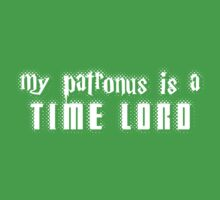 My Patronus is a Time Lord Kids Tee