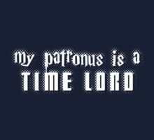 My Patronus is a Time Lord One Piece - Short Sleeve