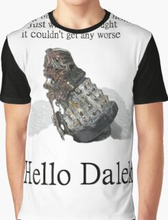 Hello Dalek Graphic T-Shirt