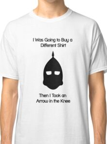 Arrow to the Knee Classic T-Shirt