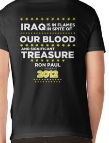 Iraq is in Flames - Ron Paul for President 2012 Mens V-Neck T-Shirt