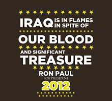 Iraq is in Flames - Ron Paul for President 2012 T-Shirt
