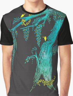 Tree Birds Graphic T-Shirt