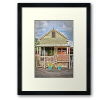 A Cottage in Bethanga Framed Print