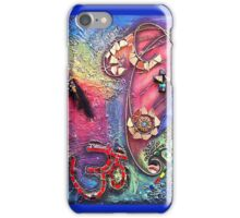 OM MIXED MEDIA..☮ iPhone Case/Skin