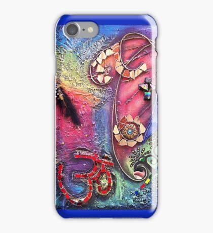 OM MIXED MEDIA..☮ iPhone Case/Skin