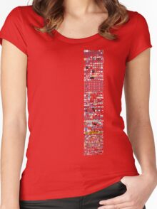 Icons (facebook) Women's Fitted Scoop T-Shirt