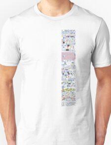 Icons (facebook) Unisex T-Shirt