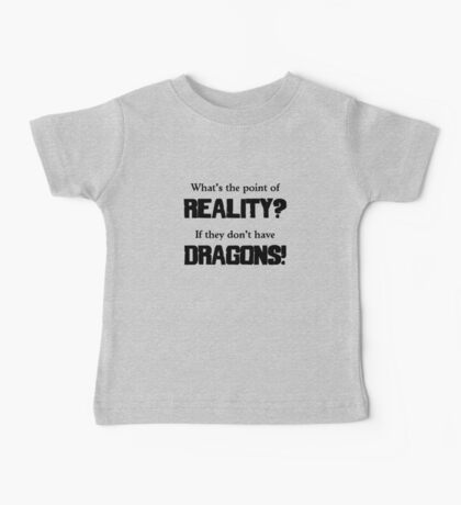 What's The Point of Reality? Baby Tee