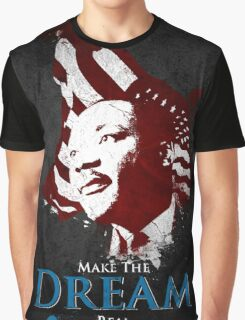 Martin Luther King, Jr. (flag) Graphic T-Shirt