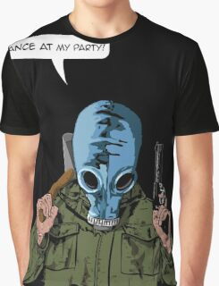 "Dead Man's Shoes ""Dance at my party"" Comic Style Illustration  Graphic T-Shirt"