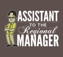 Assistant TO THE Regional Manager (Variant) One Piece - Short Sleeve