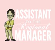 Assistant TO THE Regional Manager (Variant) One Piece - Long Sleeve