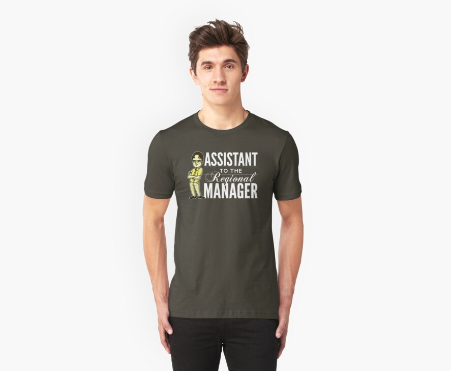 Assistant TO THE Regional Manager (Variant) by huckblade