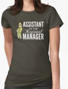 Assistant TO THE Regional Manager (Variant) Womens Fitted T-Shirt