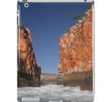 Horizontal Falls tidal flow iPad Case/Skin
