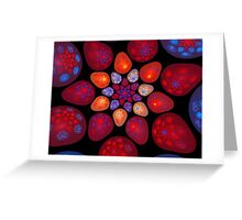 Space Jellybeans (Fractal) Greeting Card
